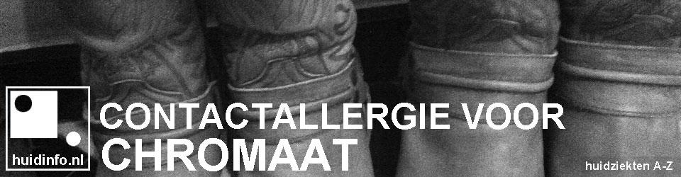 allergie voor chromaat leer cement