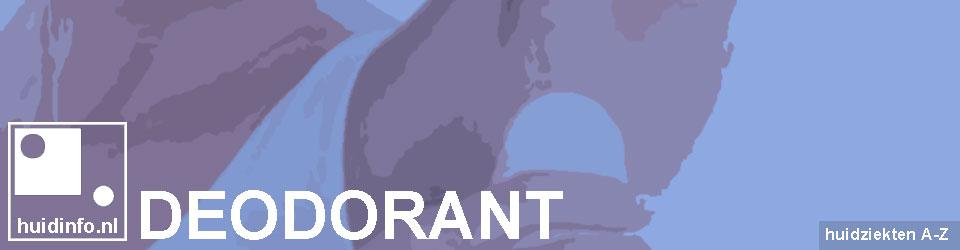 deodorant tegen zweten