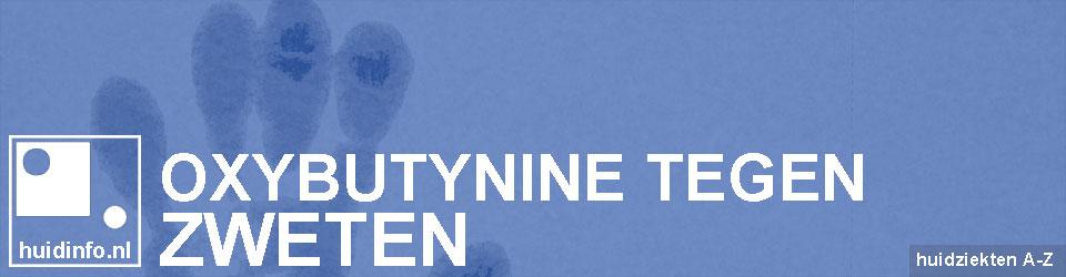 oxybutynine tegen zweten