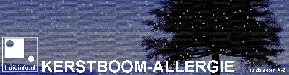 kerstboom allergie