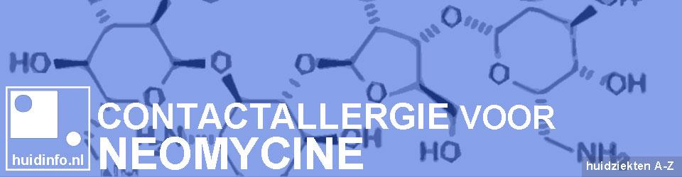 allergie neomycine