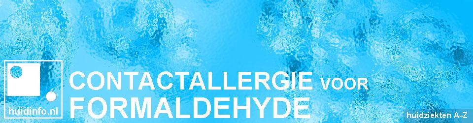 allergie formaldehyde