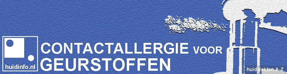 allergie voor geurstof geurstoffen parfum