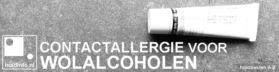 allergie voor wolalcoholen