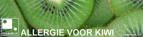 allergie voor kiwi